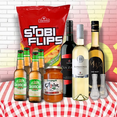 Macedonia Deluxe Party Pack