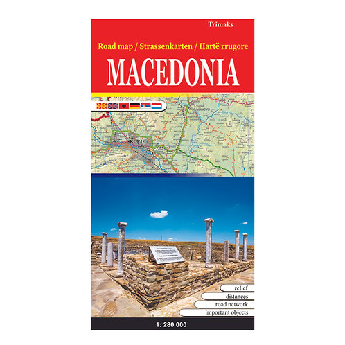 Road map Macedonia