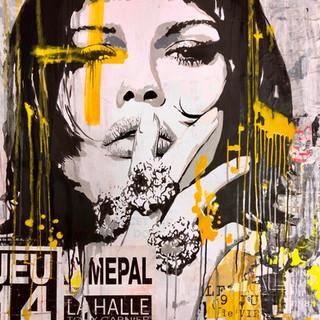 _14 Février_ 81 x 100 cm