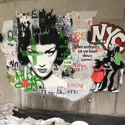 """""""Fresque murale"""" commande particuliers"""