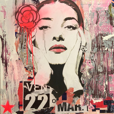 _La Callas_ 80 x 80 cm