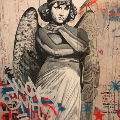 """""""L'Ange de Monteverde""""100 x 120 cm. VENDU"""