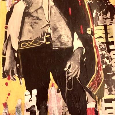 """Clint"" 70 x 160 cm (vendu)"