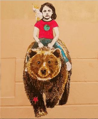 Miss à dos d'ours