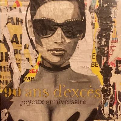 """""""Joyeux Anniversaire""""80 x 120cm"""