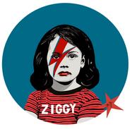 Print Ziggy 35 x 35 cm