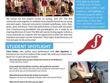 Student Spotlight!