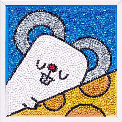 Mouse Diamond Painting Kit with Frame