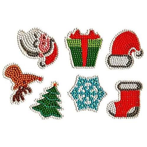 DIY Christmas Holiday Season Diamond Painting Sticker Kit