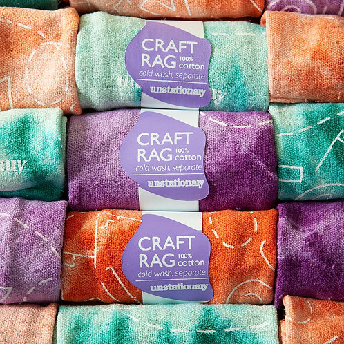 Craft Rags 3 pack - 100% Cotton