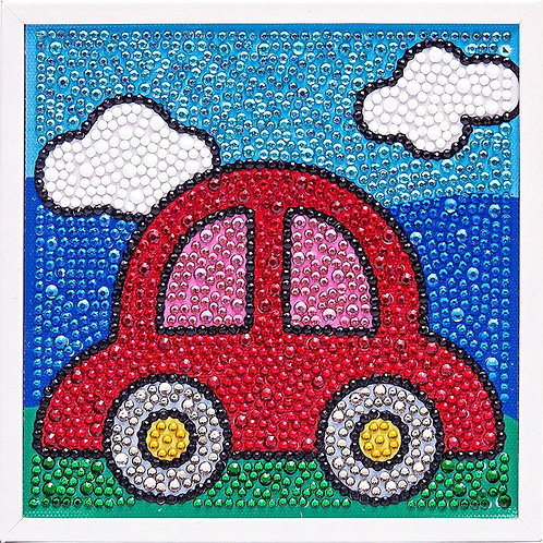 Car Diamond Painting Kit with Frame