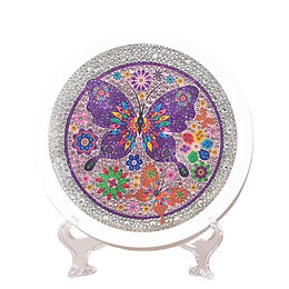 Butterfly Diamond Painting Kit for Kids Framed Stand