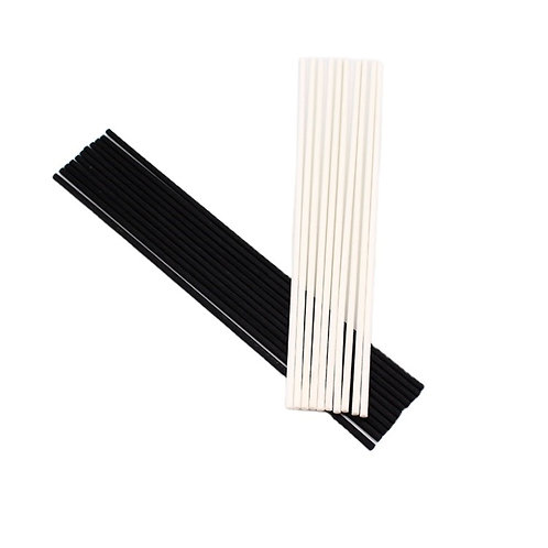 Elegant Pack Fiber Diffuser Reeds, Unscented Replacement Stick