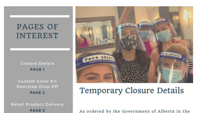 Scissorworks and Company Update | Temporary Closure | Service Offerings