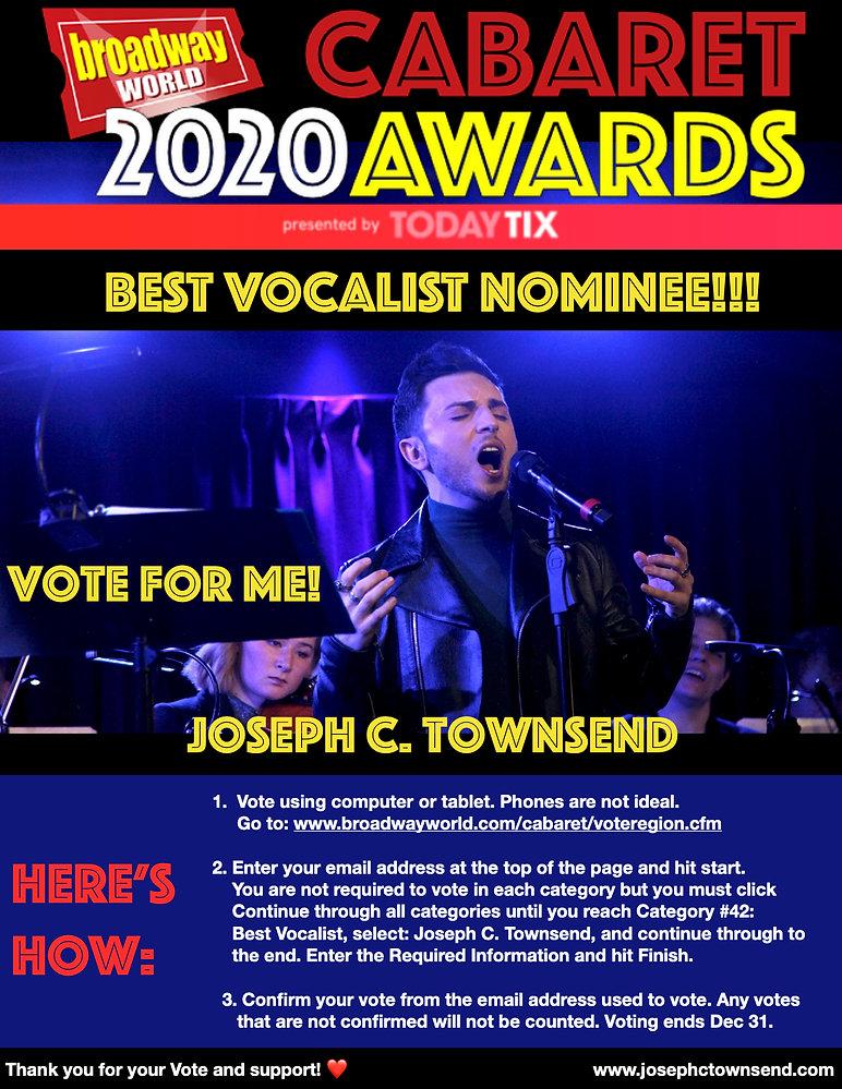 Joseph C. Townsend BWW 2020 Best Vocalis