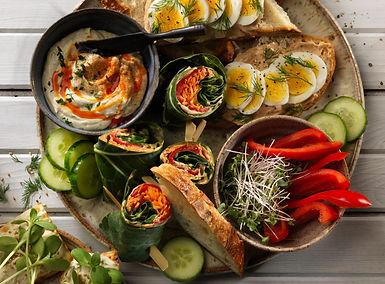 Enjoy as a dip on veggie platters