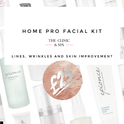 Home Pro Facial Kit Lockdown - Anti-aging