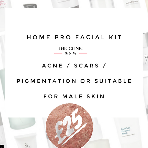 Pro Facial Kit for Acne and Scarring Lockdown Kit