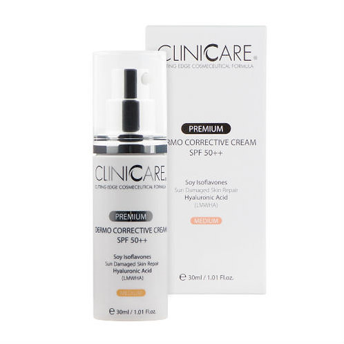 Clinicare Dermo Corrective Cream SPF50 (Medium) 30ml