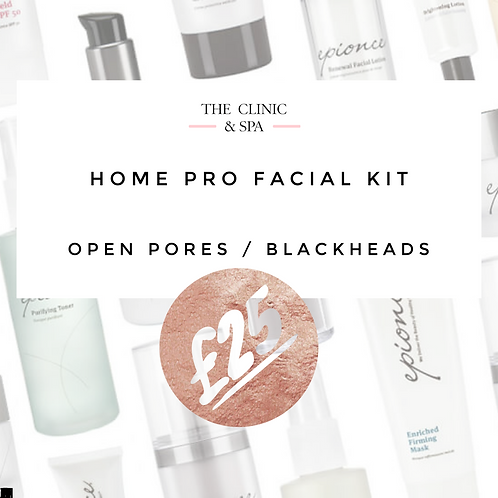 Pro Facial Kit for open pores and blackheads Lockdown