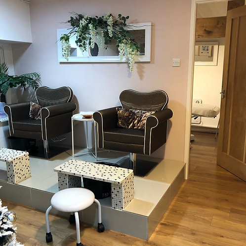 Pedicure for Two with Hot Drink or Prosecco