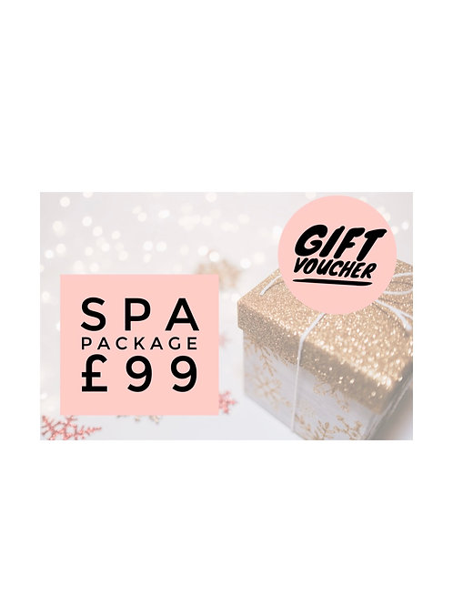 Gift Voucher Spa Day Package