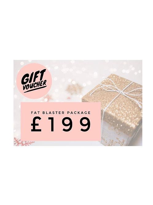 Gift Voucher Fat BlasterPackages