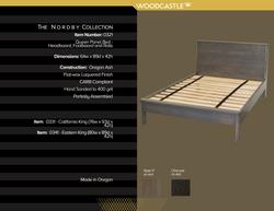 Single Piece 0321 Queen Bed Slate 17
