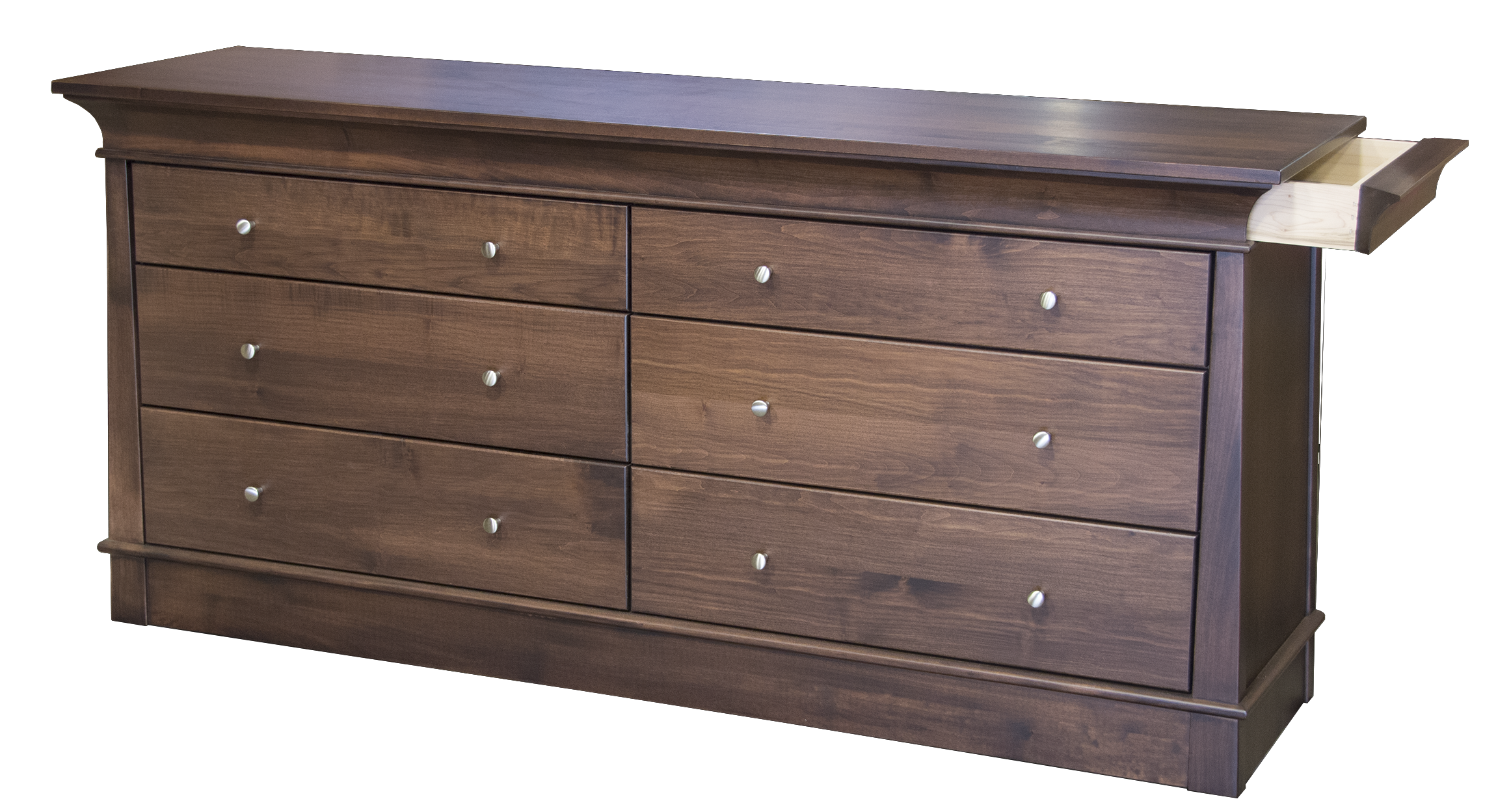 Hampton Walnut 6 dwr