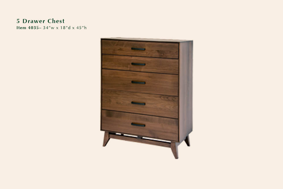 Kelby 5 Dwr Chest