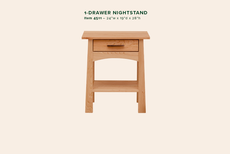 Reflections 1 Dwr Nightstand