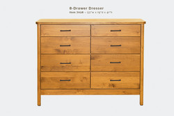 Mia 8 Dwr Dresser