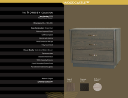 Single Piece 0333 Nordby Three DWR Dresser