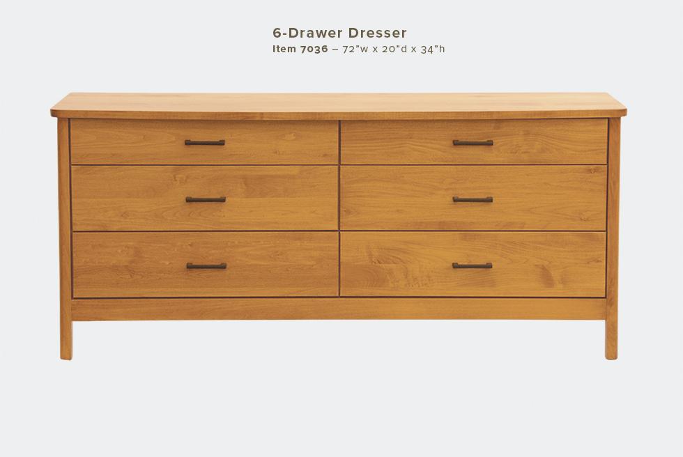 Mia 6 Dwr Dresser