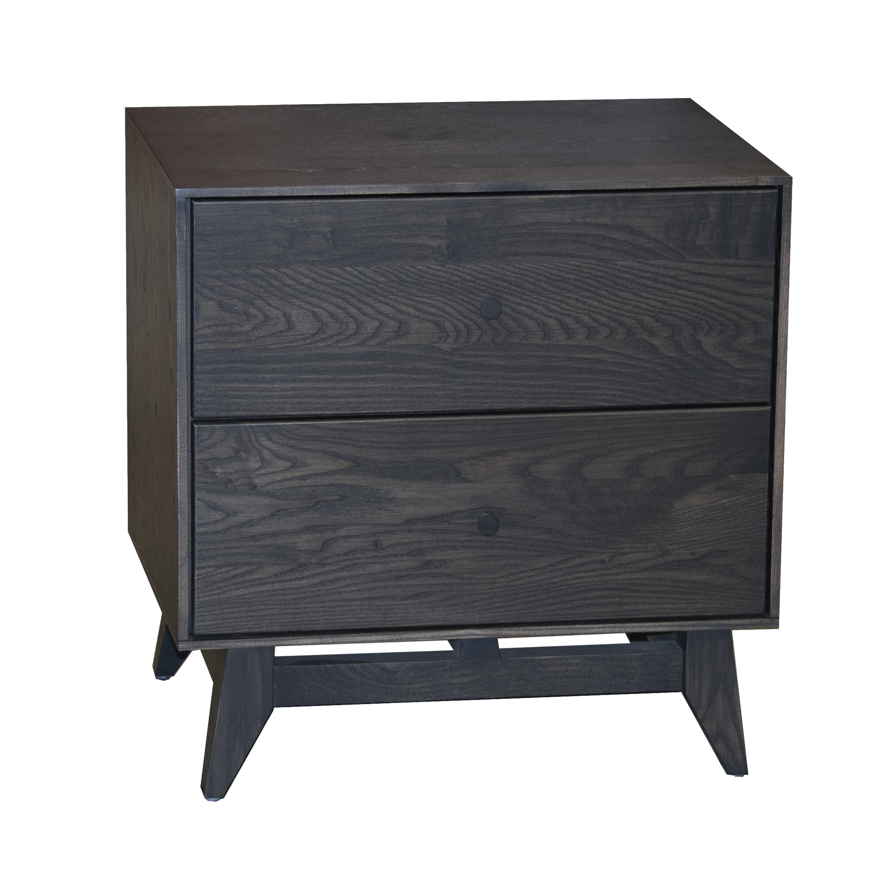 Obsidian Nightstand Montano