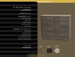 Single Piece 0328 Nordby Eight DWR Dresser