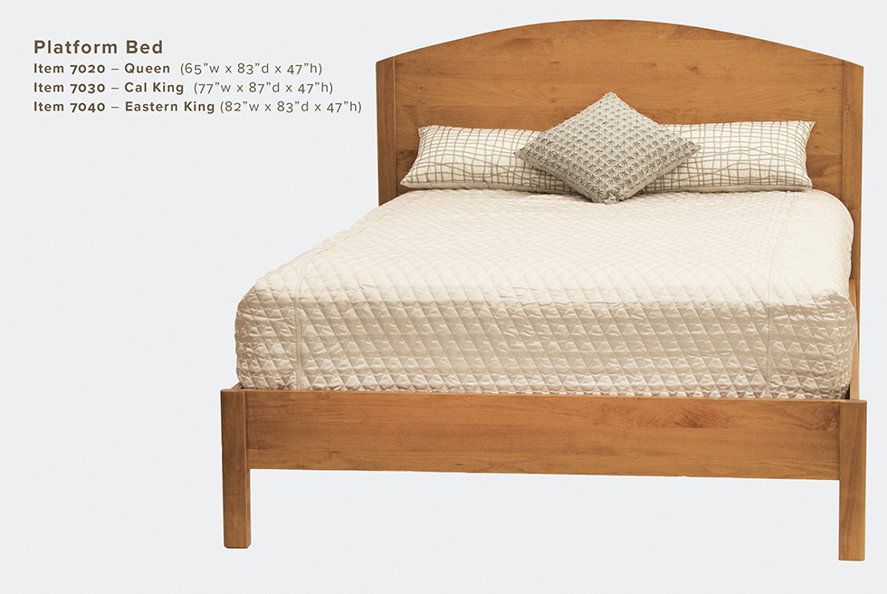 Mia Platform Bed