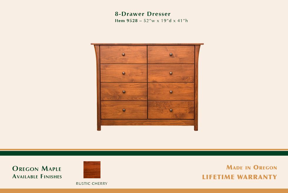 Keizer 8 Drawer Dresser