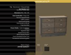 Single Piece 0326 Nordby Six DWR Dresser