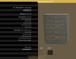 Single Piece 0335 Nordby Five DWR Dresser copy