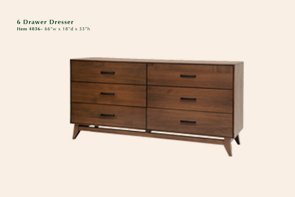 Kelby 6 Dwr Dresser