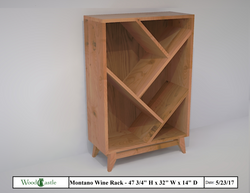 Montano Wine Rack - Locals Only