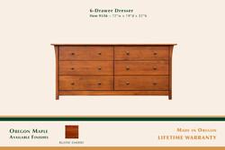 Keizer 6 Drawer Dresser