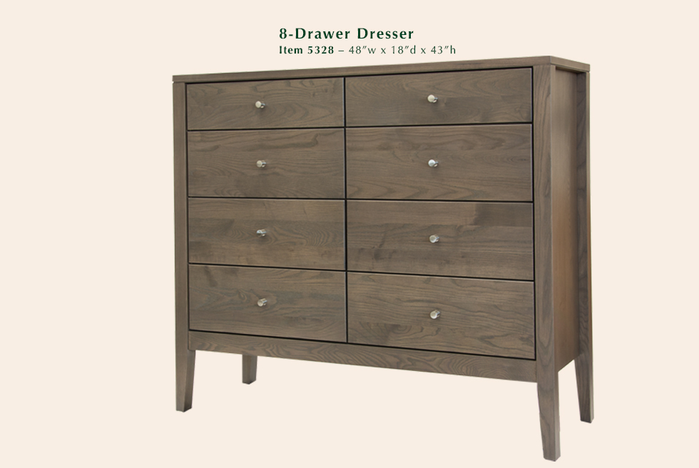 Calvin 8 Drawer Dresser