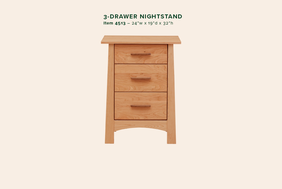 Reflections 3 Dwr Nightstand