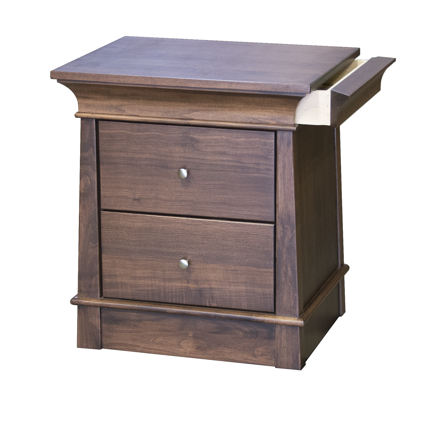 Hampton Walnut Nightstand