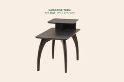 Tibro Lamp End Table