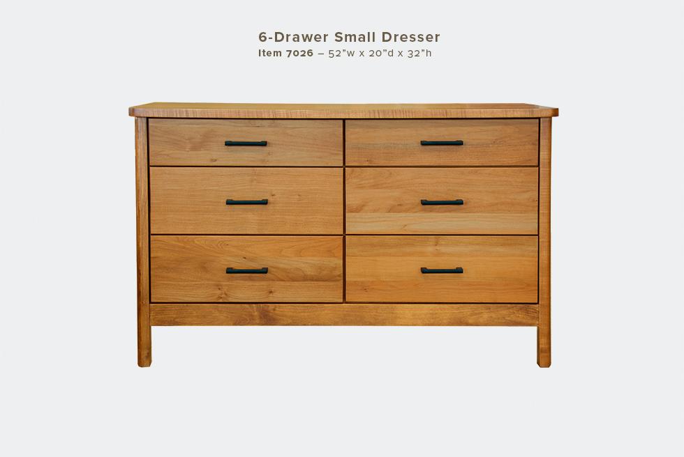 Mia Small 6 Dwr Dresser