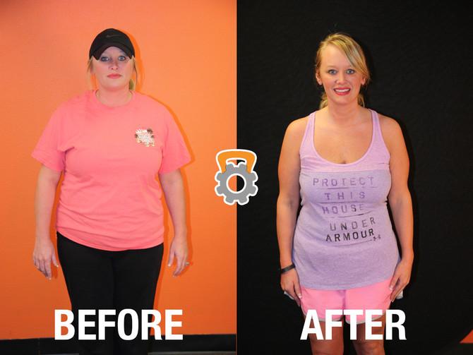 Lyndria Lost 43.4 lbs in 12 Weeks