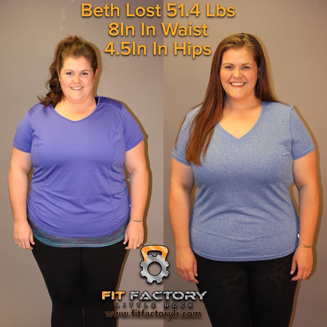 Beth lost 51.4 lbs
